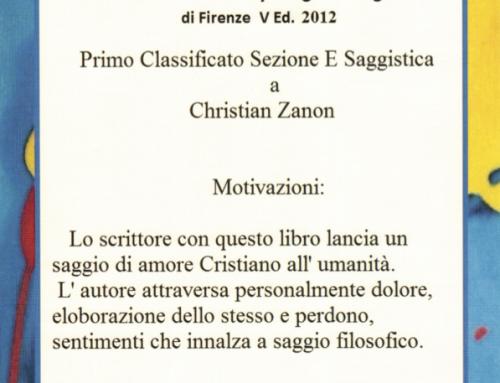 «Il Figlio Negato» Vince, gana, win 1º Premio letterario internazionale Lilly Brogi!!!